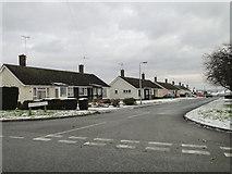 TM3876 : Bedingfield Crescent, Halesworth by Adrian S Pye