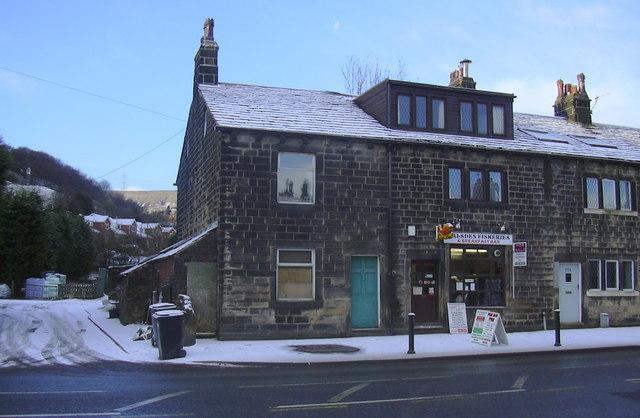 """Walsden Fisheries"" 780 Rochdale Road, Todmorden, Lancashire, OL14 7UA"
