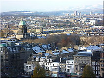 NT2473 : View towards Charlotte Square from Edinburgh Castle by kim traynor