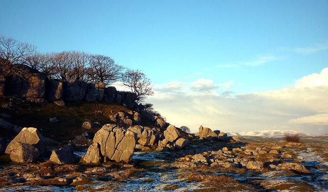Boulders, Newbiggin Crags