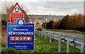 J4773 : Welcome to Newtownards (2) by Albert Bridge