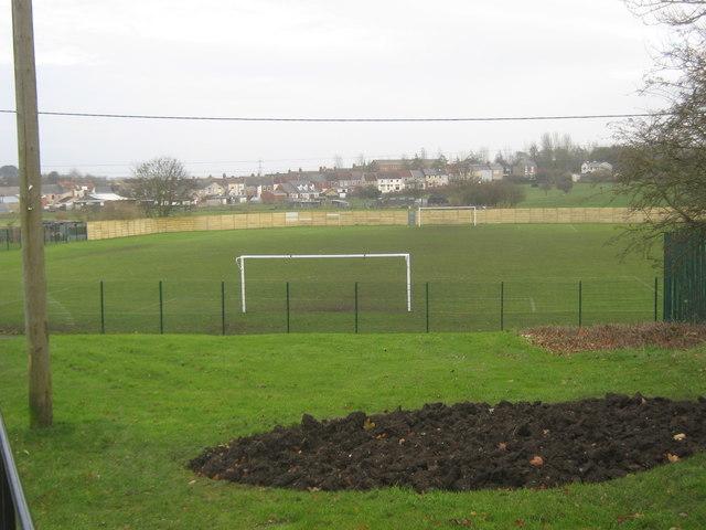 Welfare Park football ground Wingate County Durham