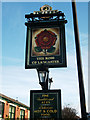 SD8906 : Rose of Lancaster pub sign by michael ely