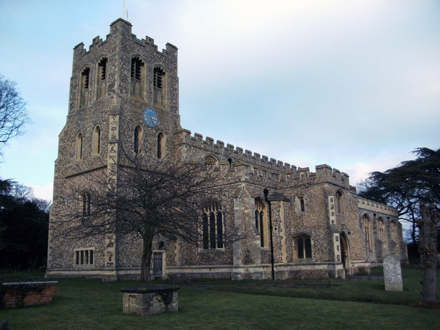 St Peter's Church   Coggeshall  Essex