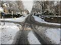 NT2470 : Mini-roundabout, Braid Road by M J Richardson