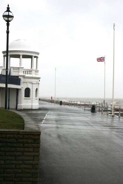 Windswept Sea Front