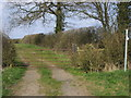 SP6530 : Bridleway to Tingewick by Shaun Ferguson