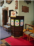 NY4057 : St Michael's Church, Stanwix, Carlisle, Pulpit by Alexander P Kapp