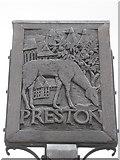 TR2560 : Preston Village Sign by David Anstiss