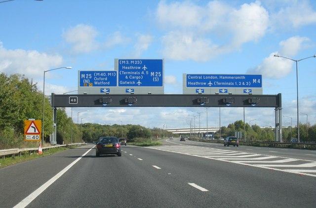 M4/M25 - junction 4B