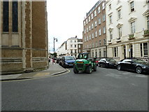 TQ2878 : Unusual vehicle in Chester Square by Basher Eyre