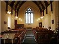 NY3561 : The Parish Church of St Mary the Virgin, Rockcliffe and Cargo. Interior by Alexander P Kapp
