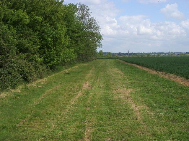 Bridleway to Keyston