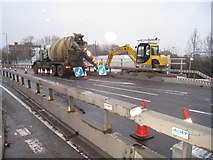 SU6252 : Cement for Brunel Road bridge by Given Up