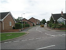 TM3877 : Road junction within Gainsborough Drive by Basher Eyre