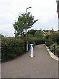 TM3877 : Cycleway from the B1123 to Holmere Drive by Basher Eyre