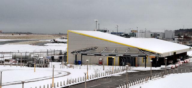 Former terminal building, George Best Belfast City Airport