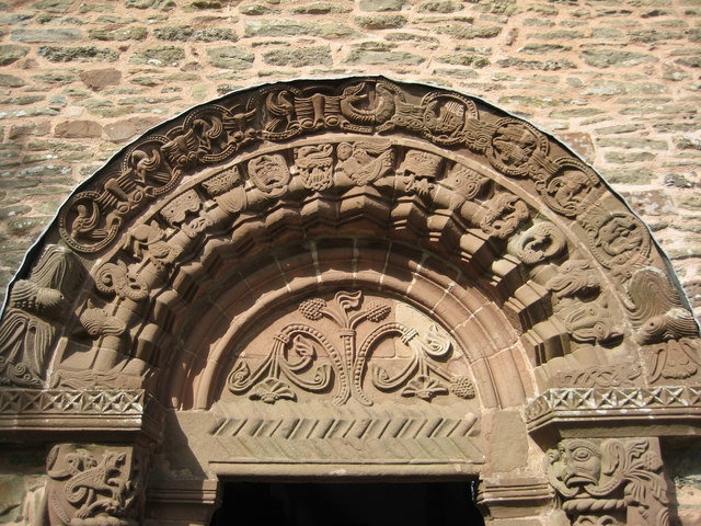 Tympanum and arch, Kilpeck