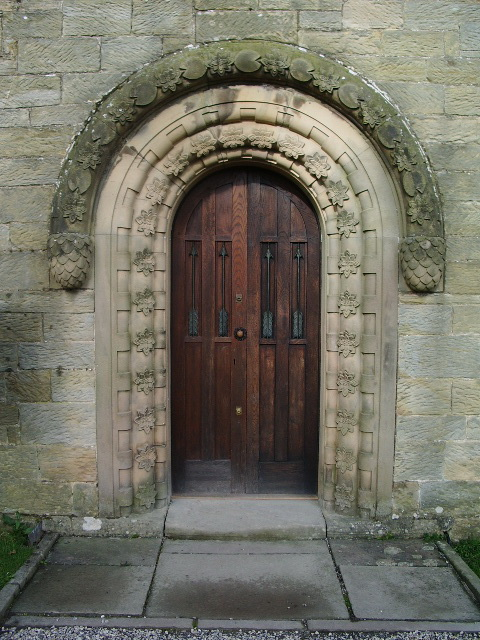 St Mary's Church, Wreay, Doorway