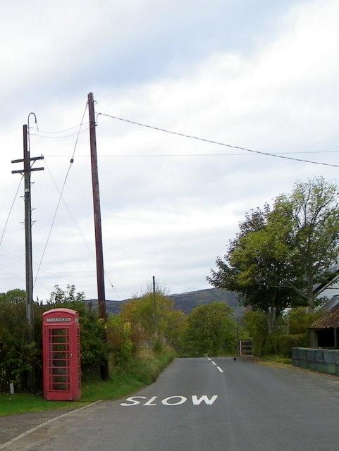 Telephone box, Buchanty