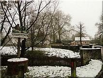 TM2384 : Starston Village sign by Adrian S Pye