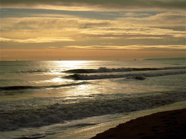 Newburgh: the beach at Foveran Links