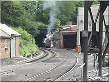 NZ8204 : 4MT 80135 stands at Grosmont engine shed by Jonathan Thacker