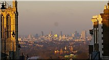 TQ3370 : Central London seen from Gipsy Hill by Christopher Hilton