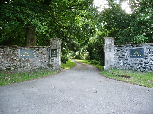Entrance to Bigland Hall