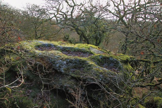 Hucken Tor rock basins