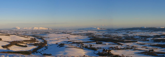 Panorama from summit of Seamab Hill