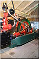 SD7208 : Fred Dibnah Heritage Centre - steam engine. by Chris Allen