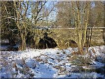 SK2441 : A52 crossing Brailsford Brook by Martyn Glover