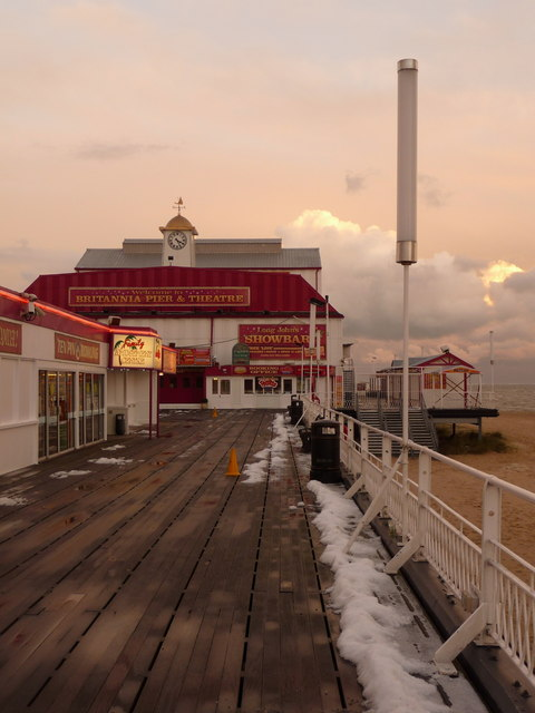 Great Yarmouth: on Britannia Pier