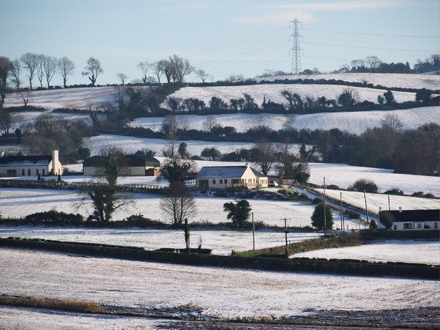 Snow, Ballycowan