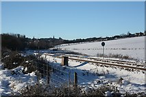 SE2728 : Leeds to Manchester Railway approaching Morley Tunnel by Richard Kay