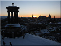NT2674 : Sunset from Calton Hill by M J Richardson
