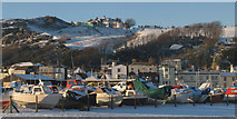 TQ8209 : Boats and Hastings Seafront by Oast House Archive