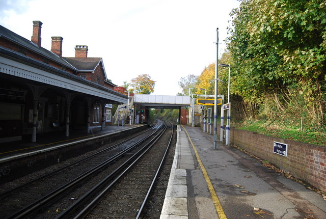 Otford Station (looking north)