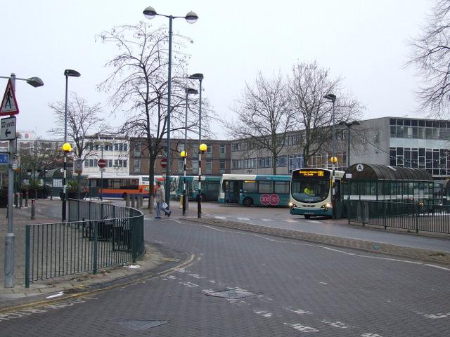 Stevenage bus station