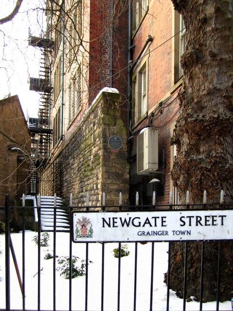 Town Wall, Newgate Street