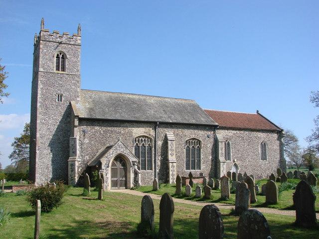 Lingwood St Peter's church