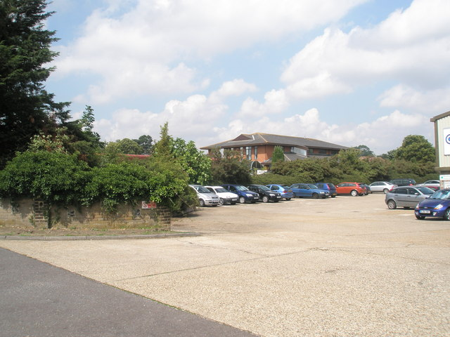 Car park at Cogent, Dock Lane