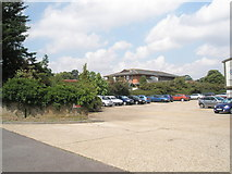 TM2850 : Car park at Cogent, Dock Lane by Basher Eyre