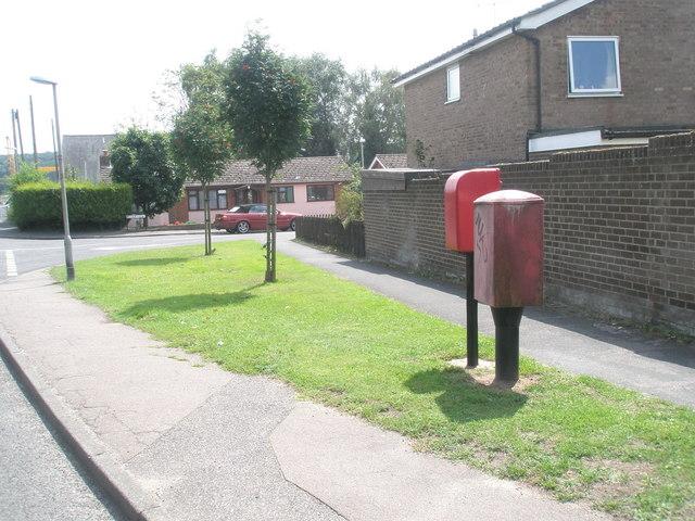 River View Postbox in Dock Lane