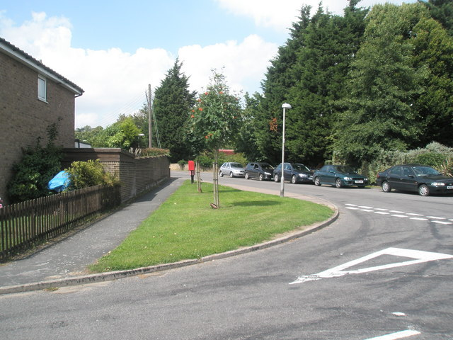 Junction of Dock Lane and  River View