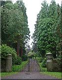 NU1211 : Gates near Edlingham by Stephen Richards