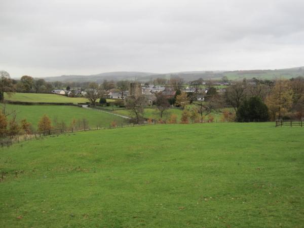 View towards Barbon