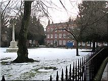 SK7953 : Newark: Appleton Gate from Church Walk by John Sutton