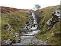 SD6682 : Waterfall on Aygill by Les Hull